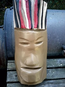 Billy Bungo Wood Carving