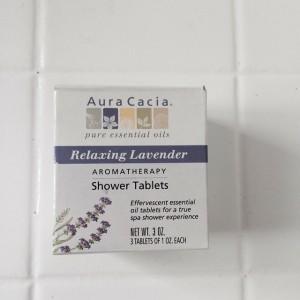 Aura Cacia Shower Tablets