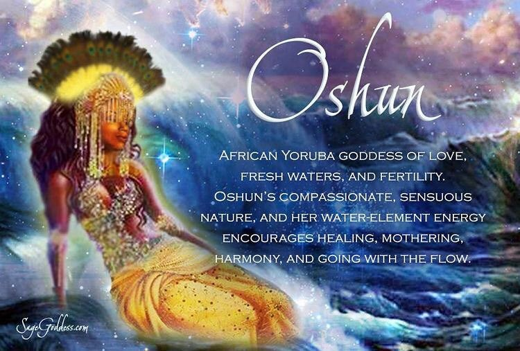 Oshun + Spoken Word = Beauty, & Happiness - Rene Holiday